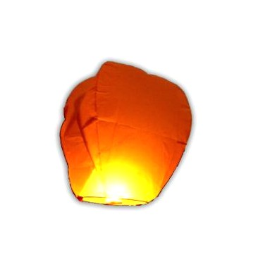 Lampion štěstí 37x35,5x1,5 mix barev