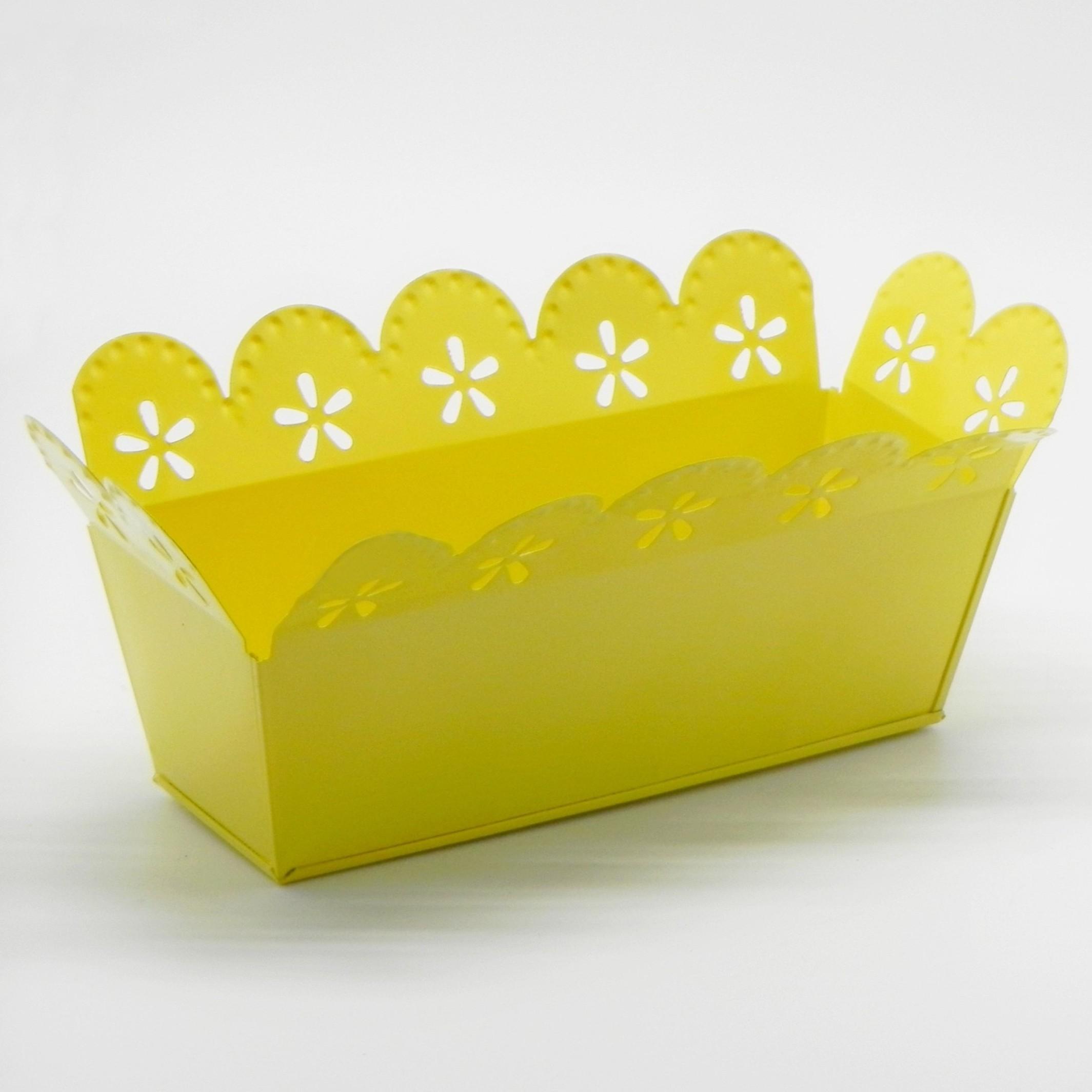 Truhlík plech žlutá