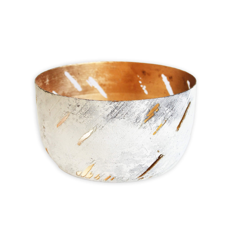 Miska kov 13x7cm bílá (46397A-8134)