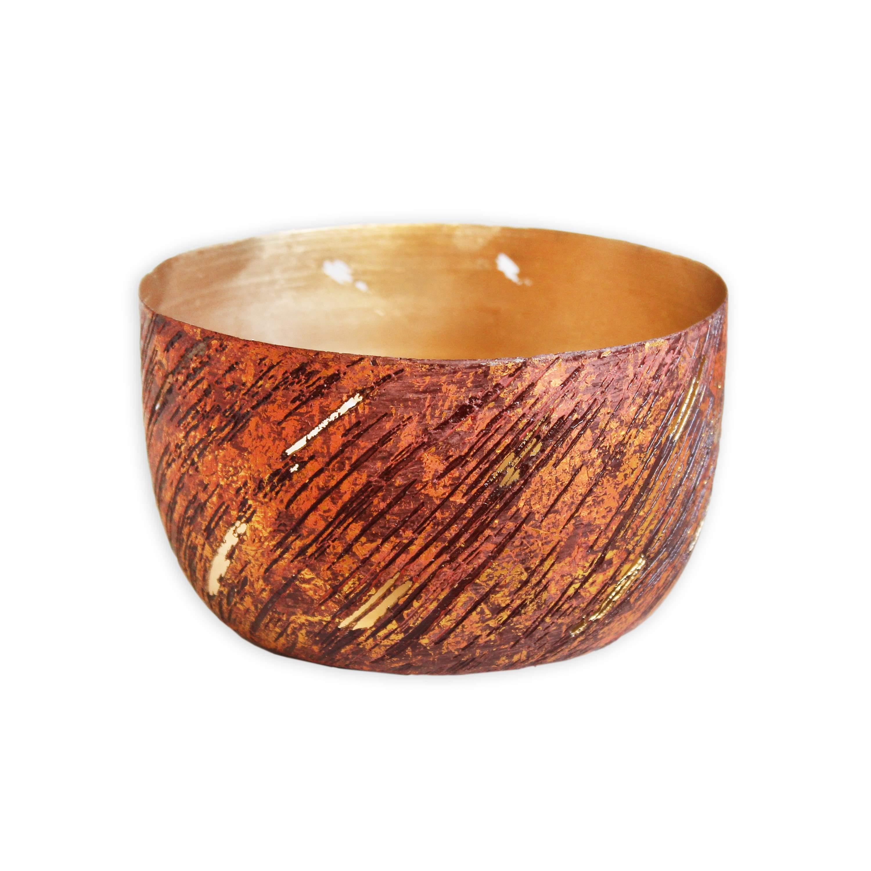 Miska kov 13x7cm fialová (46397A-8332)
