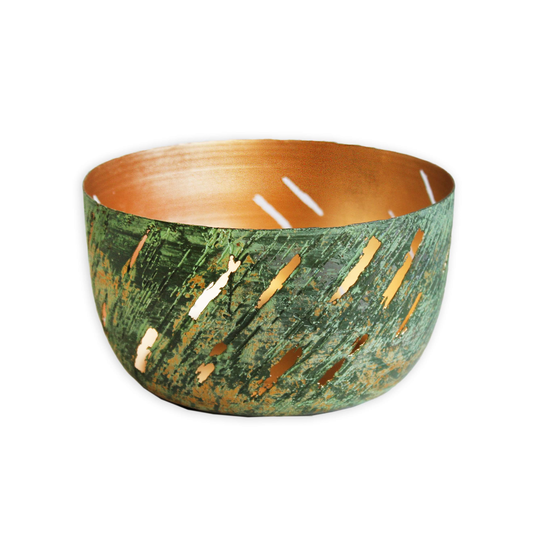 Miska kov 13x7cm zelená (46397A-8159)