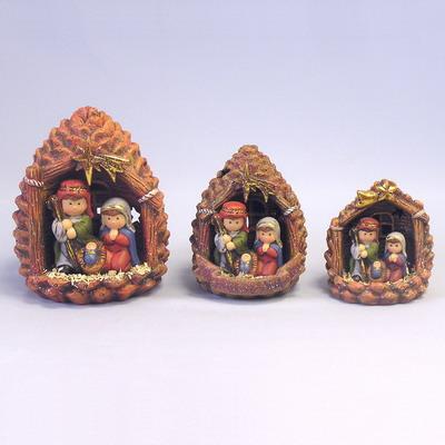Betlém šiška keramika 13cm