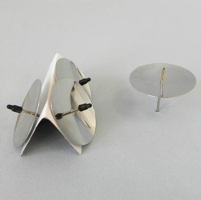 Bodce kov S/4 pr.4,5cm stříbrná