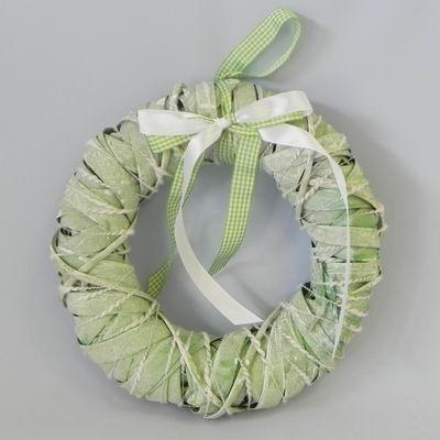 Kruh závěs proutí zelená