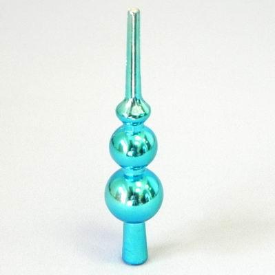 Špice vánoční pvc 15cm modrá