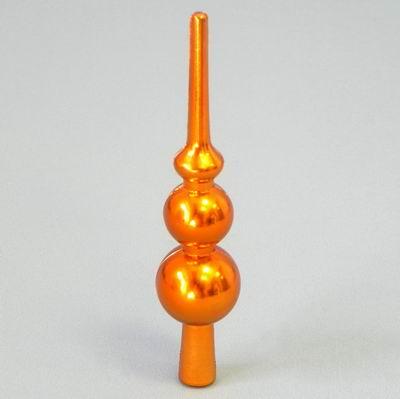 Špice vánoční pvc 15cm oranž
