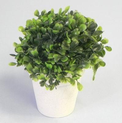 Buxus v květináči umělina V15cm zelená