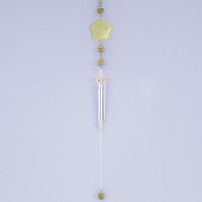 Zvonkohra sklo/kov 7x54cm