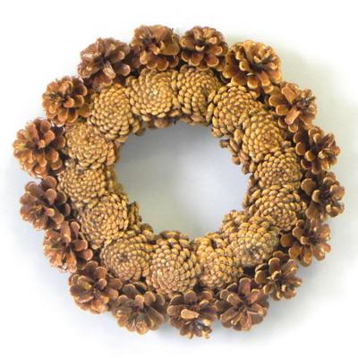 Kruh šiškový lakovaný 25cm
