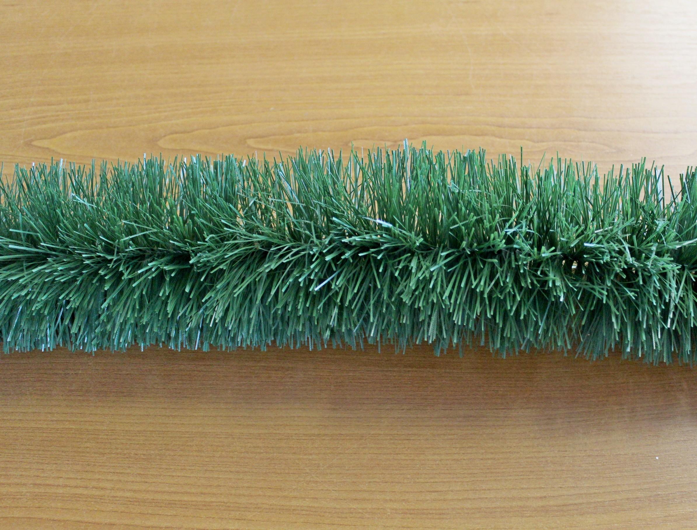 Girlanda vánoce 10cm/6m zelená