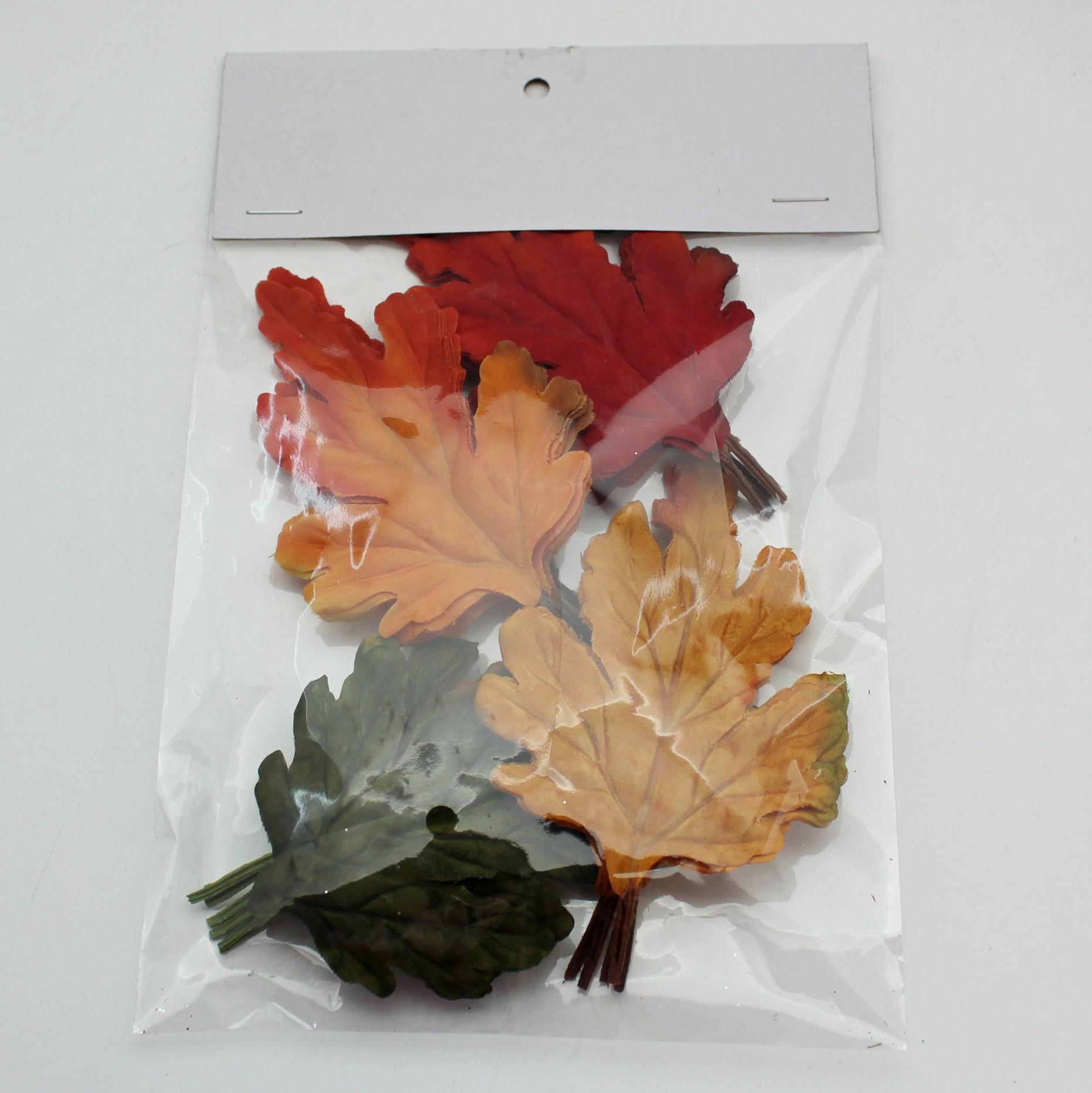 Listy zápich textil 16ks
