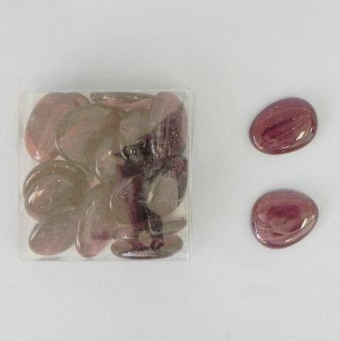 Nugety sklo placaté 300g fialová