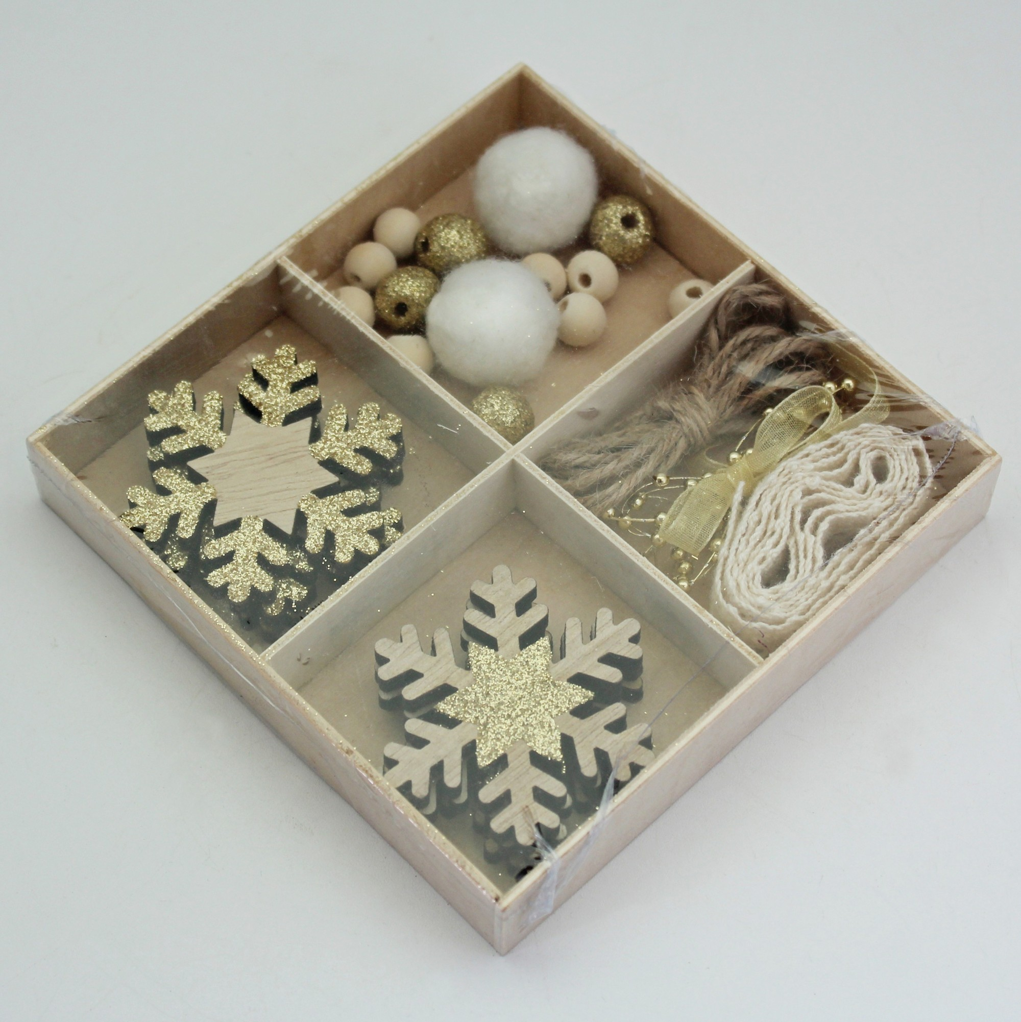 Sada DIY vánoce dřevo
