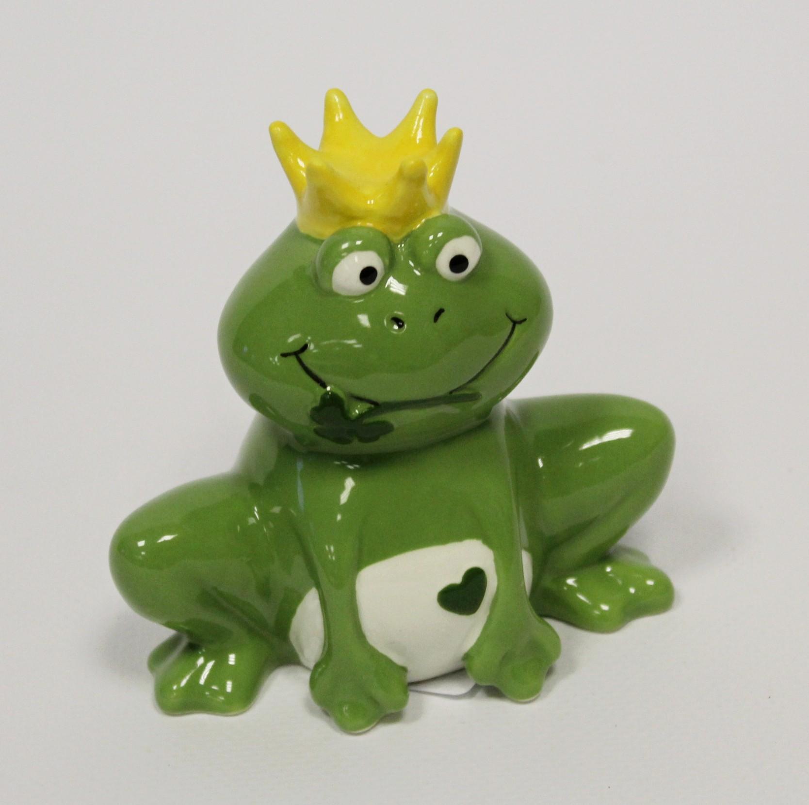 Žába porcelán 9cm