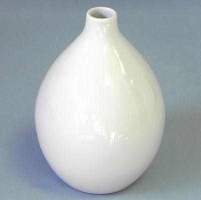 Váza keramika 15x15V21cm bílá