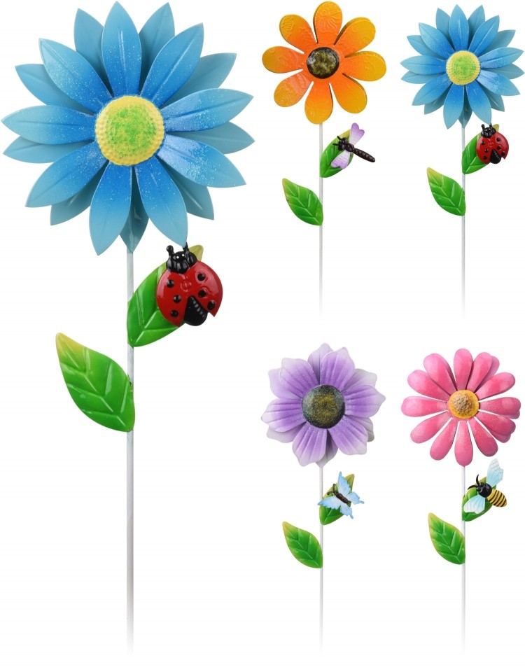 Zápich do květináče květina 79 cm