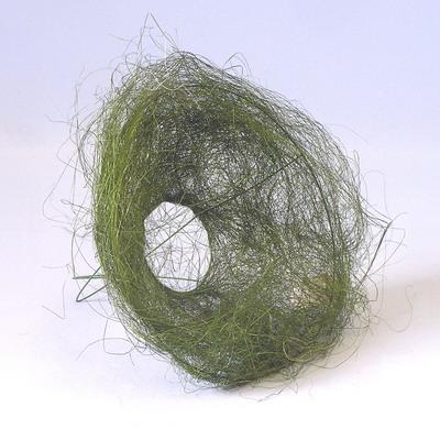 Držák sisal pr.15cm zelený