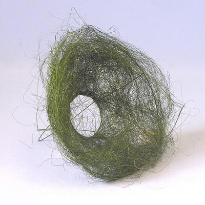 Držák sisal pr.20cm zelený