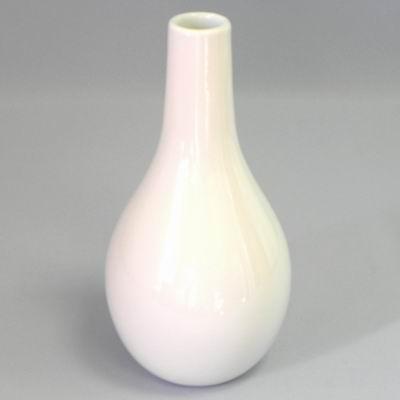 Váza keramika pr.4/15V28 bílá