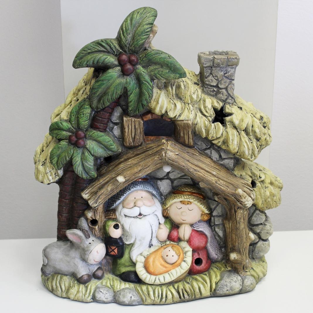 Betlém vánoce magnesia hnědý