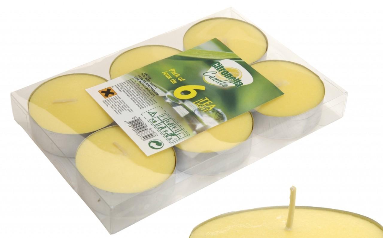 Čajové svíčky Citronella 60 ks